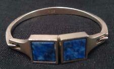 N.E.FROM (Niels Erik From, Denmark) Vintage Modernist Silver & Lazurit Bracelet