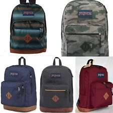 JanSport Backpack City View Big Cool Digital Student Laptop Sleeve Blue Red Camo