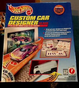 HOT WHEELS CUSTOM CAR DESIGNER MATTEL 1997