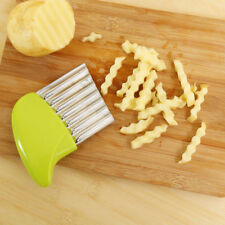 Stainless Steel Wave French Fries Fruit Potato Slicer Cutter Kitchen Gadgets
