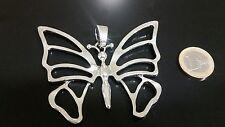1 Colgante Grande Zamak, Mariposa, abalorios,pendant,pendentif,ciondolo,anhänger