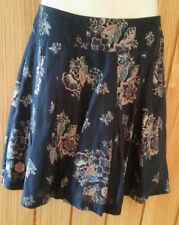Fat Face Pretty Lined Short Summer Skirt Size 8 Floral
