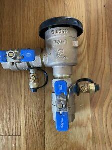 """Zurn 1"""" Pressure Vacuum Breaker Assembly 1-720A * (1202)"""