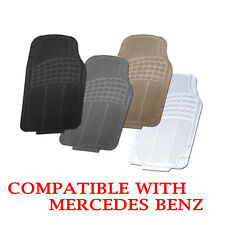 Compatible All Season Floor Mats Black Grey Beige Clear Fits Mercedes Benz
