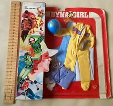 Vintage GI JOE spin off Dynagirl outfit Queen of the skies 1970 no action man