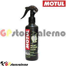 M2 HELMET INTERIOR CLEAN PULITORE IGIENIZZANTE INTERNO CASCO MOTUL  BORSALINO