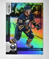 2017-18 17-18 O-Pee-Chee OPC Black Rainbow Foil #204 Jake McCabe /100