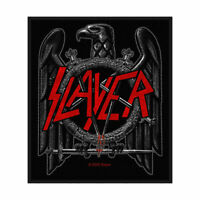 """SLAYER - """"BLACK EAGLE""""- WOVEN SEW ON PATCH - OFFICIAL"""