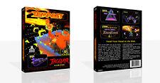 Atari Jaguar Juego De Reemplazo Tempest 2000 Estuche caja + portada trabajo (sin Juego)
