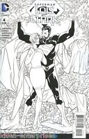 Superman Lois And Clark #4 Adult Coloring Book Variant Comic Book 2016 - DC
