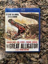 The Great Alligator - aka Il fiume del grande caimano [Blu-ray] Sergio Martino