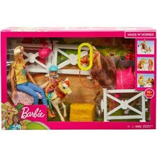 Barbie Horse   Hugs n Horses   Barbie FXH15   Suitable for 3+  