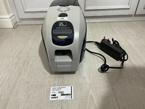 Zebra ZXP Series 3 Single Sided Mono ID Card Printer Network USB Thermal Ribbon