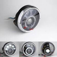 "Emarks Universal Headlight 7"" Assembly LED Kawasaki KZ W800 W650 Vulcan ZL A"