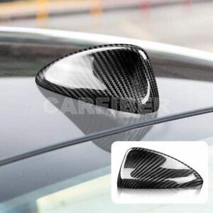 Carbon Fiber Car Roof Shark Fin Antenna Cover Trim For Alfa Romeo Giulia Stelvio