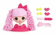 Lalaloopsy Girls Jewel Sparkles STYLING HEAD 3-in-1 Style Color Accessorize