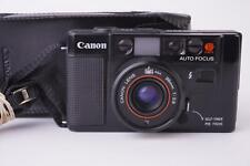Canon AF-35M compact 35mm film camera with 38 mm 1:2.8 lens