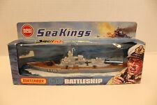 vintage lesney matchbox sea kings #K-303 battleship