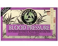 Triple Leaf Tea Blood Pressure Tea 20 Tea Bags Herbal NEW!