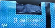 Isotoner Men's  Foam Slippers Navy Terry XXL 13-14 New in Box Washable Durable