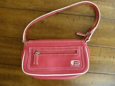 Trendy Pink & White Guess Handbag-Small Pink Guess Purse-Used in Great Condition
