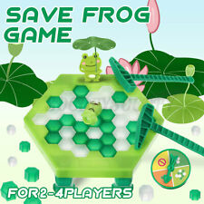 US Kids Children Save Frog On Ice Block Breaker Trap Toy Development Game Gift
