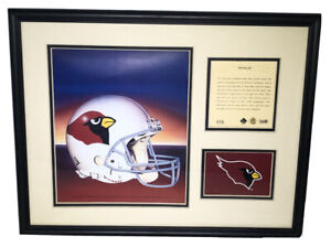 1994 Phoenix Cardinals Framed & Matted Kelly Russell Lithograph Art Print #606