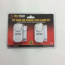 2 piezas puerta y ventana de entrada de la alarma Set - 2pc Cerradura de dispositivo de seguridad Hogar Antirrobo