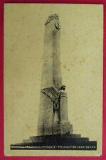 CPA BELGIQUE, KEMMEL MEMORIAL FRANCAIS, FRENCH GEDENKTEEKEN, 1935