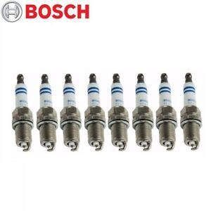 For Chevy Ford GMC Pontiac Set of 8 Spark Plugs Bosch Platinum 0242236615 / 6722