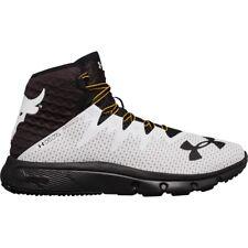 Men's Under Armour X Project Rock Delta White Training Shoes Sneakers - Sz 10