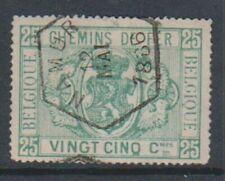 Francobolli belgi e delle colonie verde