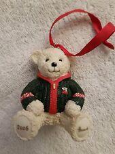 BN Harrods Resin Bear Christmas 2006 - Alexander