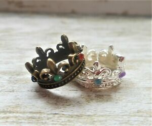 Set 2 crowns Christmas scale 1:12