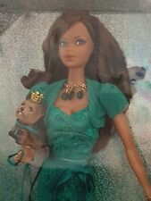 BARBIE STEFFIE MODEL MUSE SUMMER BIRTHSTONE MISS EMERALD MAY AFRICAN BLACK DOLL1