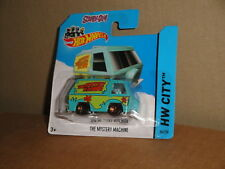 HOT WHEELS SCOOBY-DOO! CAMIONETA THE MYSTERY MACHINE DE MATTEL NUEVO EN BLISTER