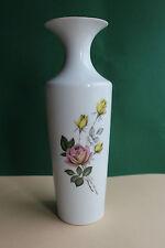 Vase,Tischvase von Jaeger&Co, Rosendekor, Höhe 30 cm