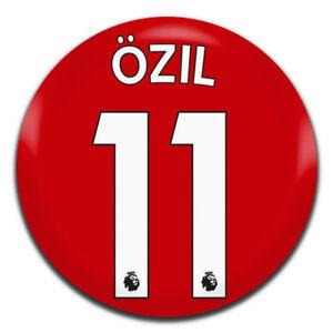 Ozil Arsenal FC Shirt Football Soccer 25mm / 1 Inch D Pin Button Badge