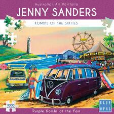 Blue Opal Jenny Sanders Purple Kombi at The Fair 1000pc Puzzle 02032