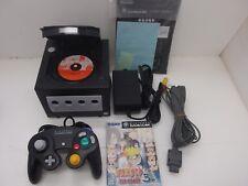 gamecube console black set Japan version Nintendo GC