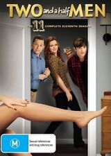 Two And A Half Men : Season 11 DVD, 2014, 3-Disc Set R4 New and Sealed