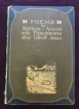 POEMS BY MATTHEW ARNOLD WITH 12 PHOTOGRAVURES AFTER GILBERT JAMES 1905 ROUTLEDGE