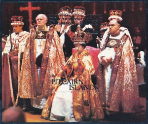 Pitcairn Island - 1978 - Sc 177 - 25Th Anniversary of the Coronation of QEII