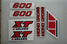Kit adesivi yamaha xt 600 4 AufkleberStickers Yamaha xt 600 43f
