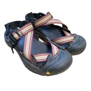 Keen Zarraport Men's Sandals Closed Toe Water Proof Size 9.5 Red Black