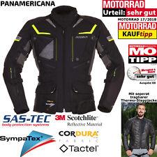 MODEKA Motorradjacke PANAMERICANA gelb schwarz Sympatex SAS-TEC Protektoren S
