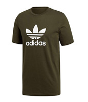 New Adidas Originals Trefoil T-Shirt  DM7754 Cotton Green Men's Medium XL