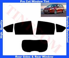 Pre-Cut Window Tint Ford C-Max 2011-... Rear Window & Rear Sides Any Shade