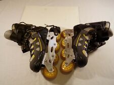 Fforward Talon adult size 11 Rollerblades. aluminum chassis Abec5 6000 Series