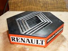 ANCIEN AUTO CENDRIER RENAULT TRUCKS CAMION PLASTIQUE TOLE 1980 EMBLEME LOSANGE